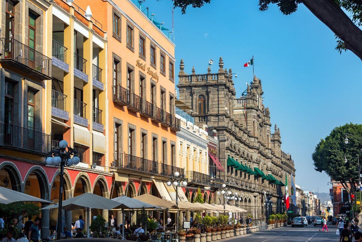 Puebla tiene uno de los centros históricos de México más bellos.